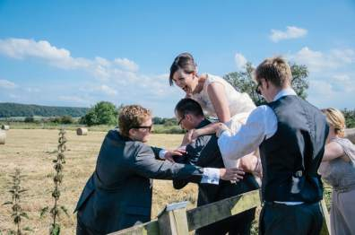 A Festival Country Wedding in Somerset 74