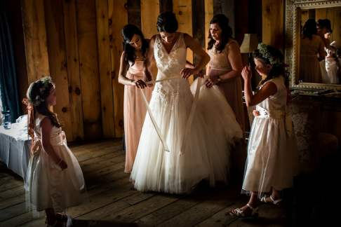 A Rustic Country Romantic Apple Orchard Barn Wedding Indiana 11