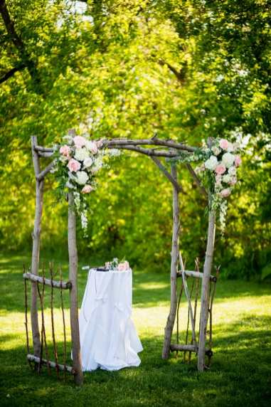 A Rustic Country Romantic Apple Orchard Barn Wedding Indiana 26
