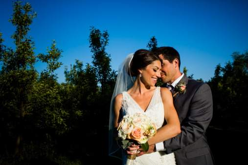 A Rustic Country Romantic Apple Orchard Barn Wedding Indiana 41