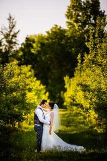 A Rustic Country Romantic Apple Orchard Barn Wedding Indiana 43