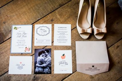 A Rustic Country Romantic Apple Orchard Barn Wedding Indiana 5