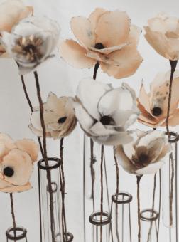 DIY Watercolour Paper Flower