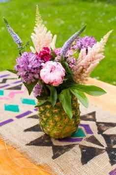 Fun Pineapple Arrangement