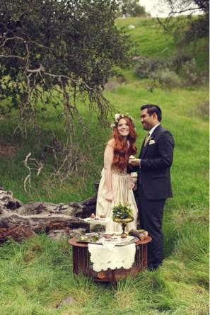 Irish St Patricks Day Styled Wedding Shoot 30