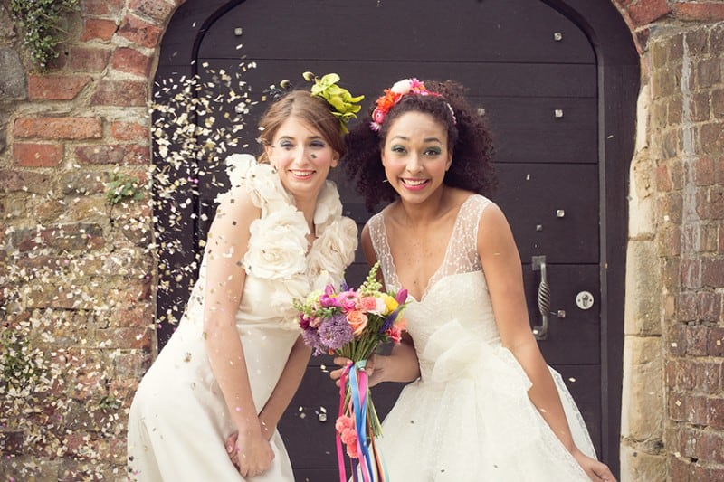 Colourful Bridesmaids Accessories from Crown & Glory for The Online Wedding Show Launch 2015