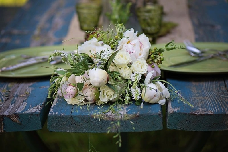 Eclectic Woodland rustic style bouquet