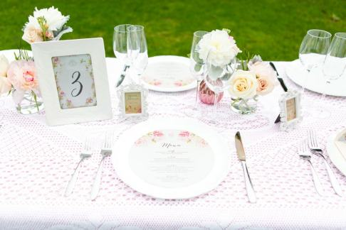 Romantic Blush Pink Styled Shoot Blushing Bride peach colour scheme 6