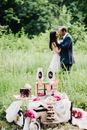 Styled Anniversary shoot romantic styled shoot rustic vintage handmade diy wedding chocolate themed wedding-36