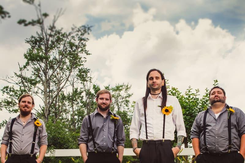 A DIY Rustic Sunflower Wedding (15)