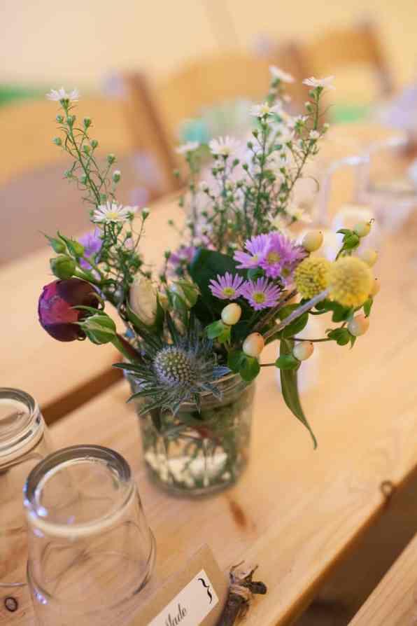 A Handmade & Laid-back Backyard Wedding in a Tipi (7)