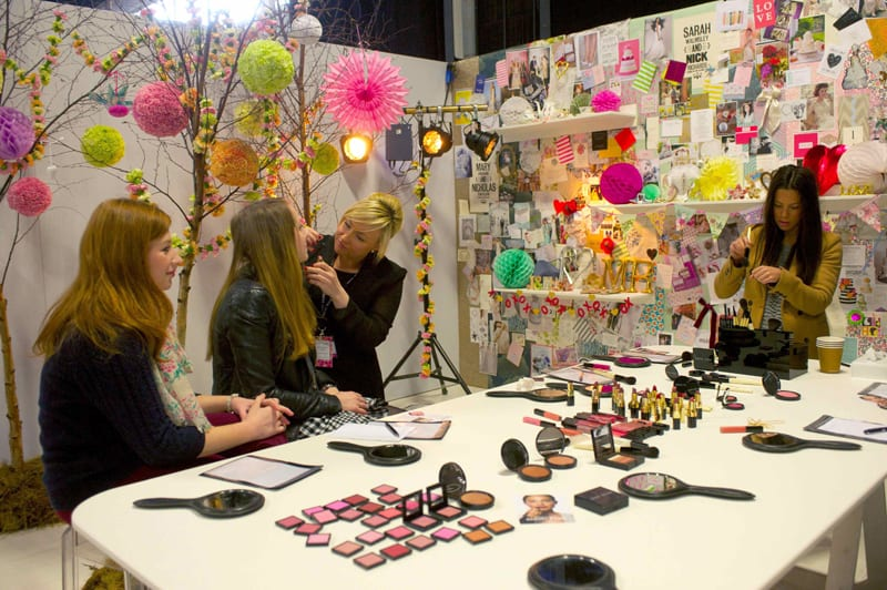Brides the Show Bridal Pampering Zone