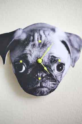 Dog Clock DIY