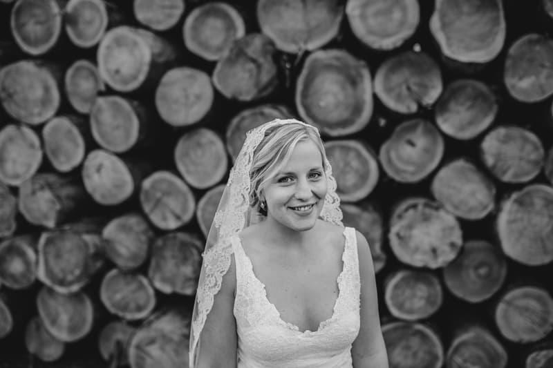 A Charming English Barn Wedding