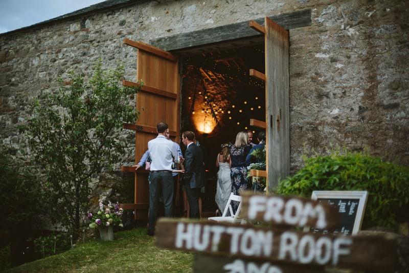 Charming English Barn Wedding