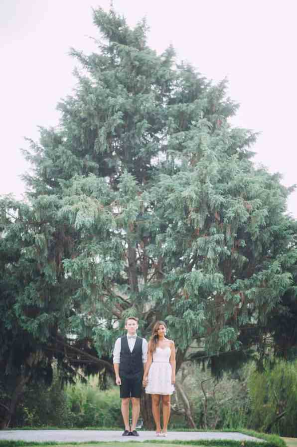 Pineapple Styled Summer Wedding Inspiration Bridal Fashion Unique Bride Forest Lake