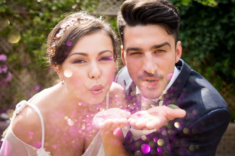 Pink, Glitter & Gold Styled shoot 84