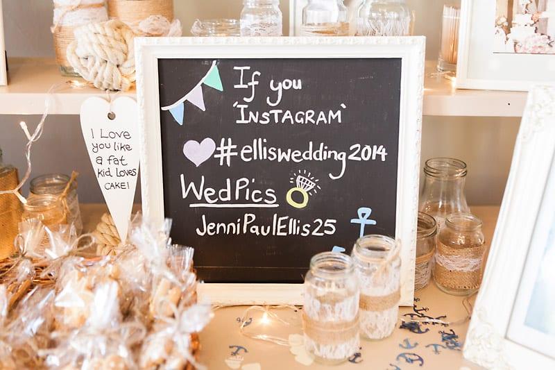 A Nautical themed DIY Wedding (16)