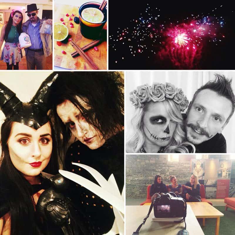 Bespoke Bride Instagram Halloween Bonfire Night  sc 1 st  Bespoke-Bride & Off The Record: Bonfires u0026 Birthdays | Bespoke-Bride: Wedding Blog