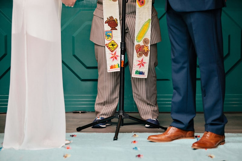 Colourful Geometric Wedding in LA (25)