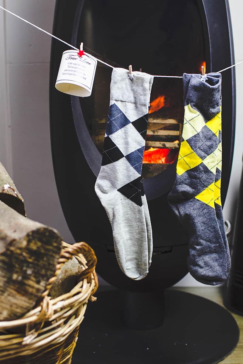 Cute n Crafty Groomsmen Gift Socks-14
