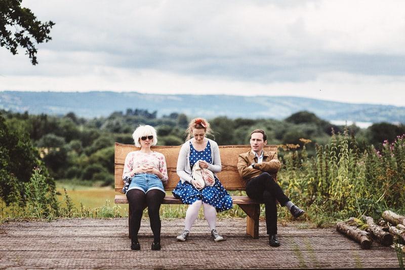 Folly farm wedding by Liron Erel 0140