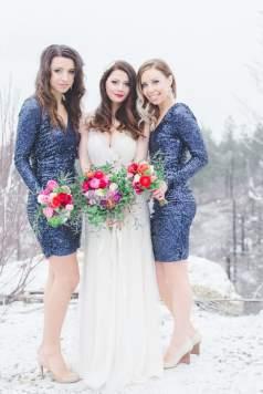 Glam Winter Wedding Inspiration