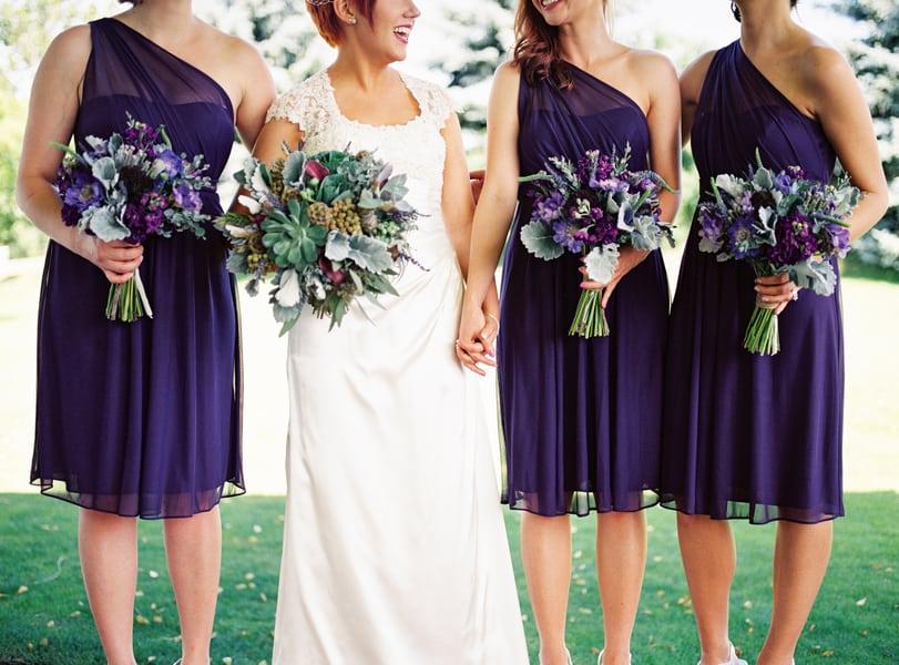 Succulent Laid Back Wedding 13