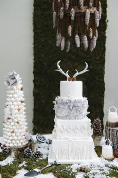 Winter Cake Inspiration Ice Grey Colour Scheme