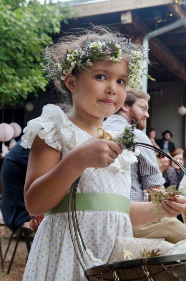 A Whimsical nature inspired wedding with woodland animals (12)