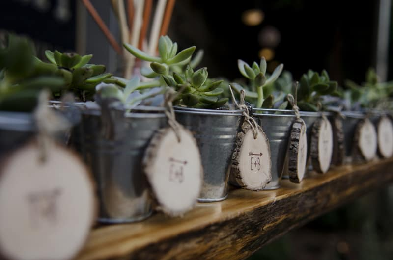 A Whimsical nature inspired wedding with woodland animals (4)