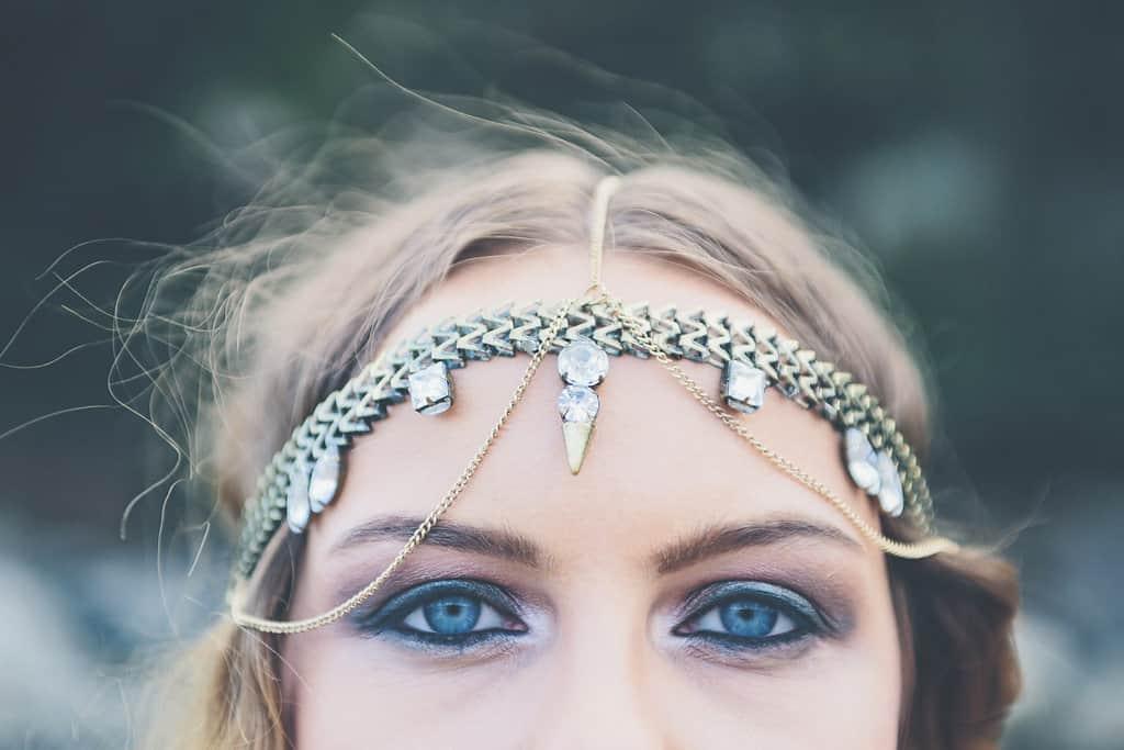 Bohemian Sequin Wedding Inspiration beach festival style 10