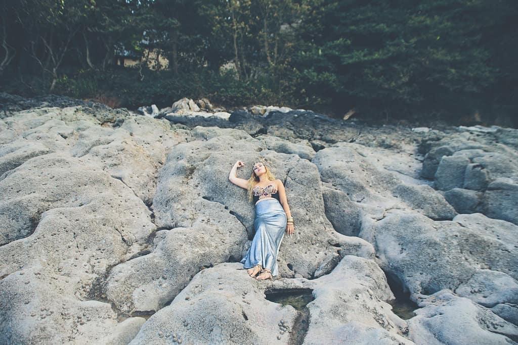 Bohemian Sequin Wedding Inspiration beach festival style 7