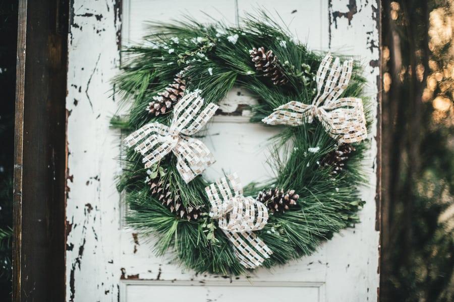 Festive Wedding Inspiration on a Christmas Tree Farm 26