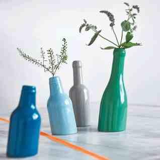 Not So Straight Bottle Vases
