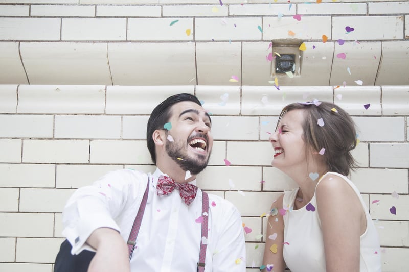 Quirky, Laid back styled wedding shoot at Victoria Baths Manchester (11)