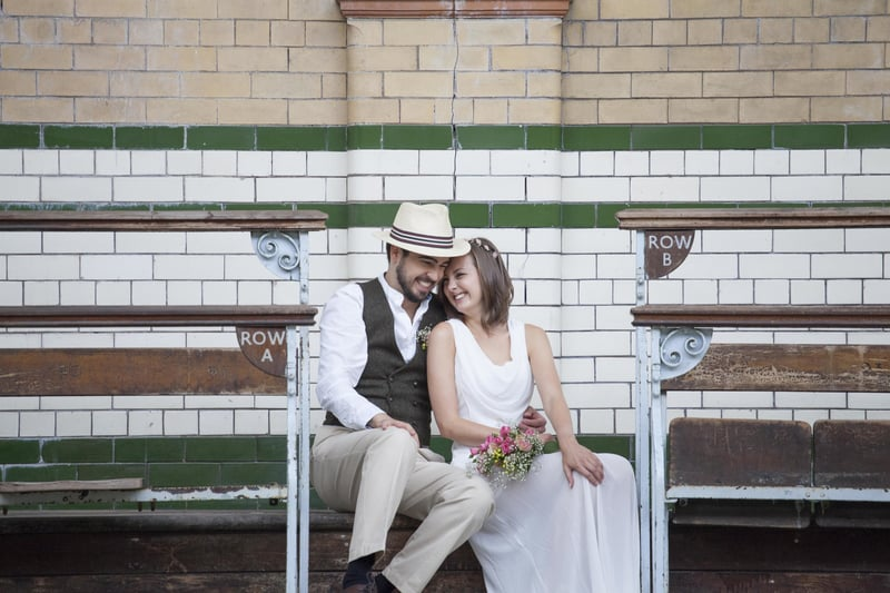 Quirky, Laid back styled wedding shoot at Victoria Baths Manchester (6)