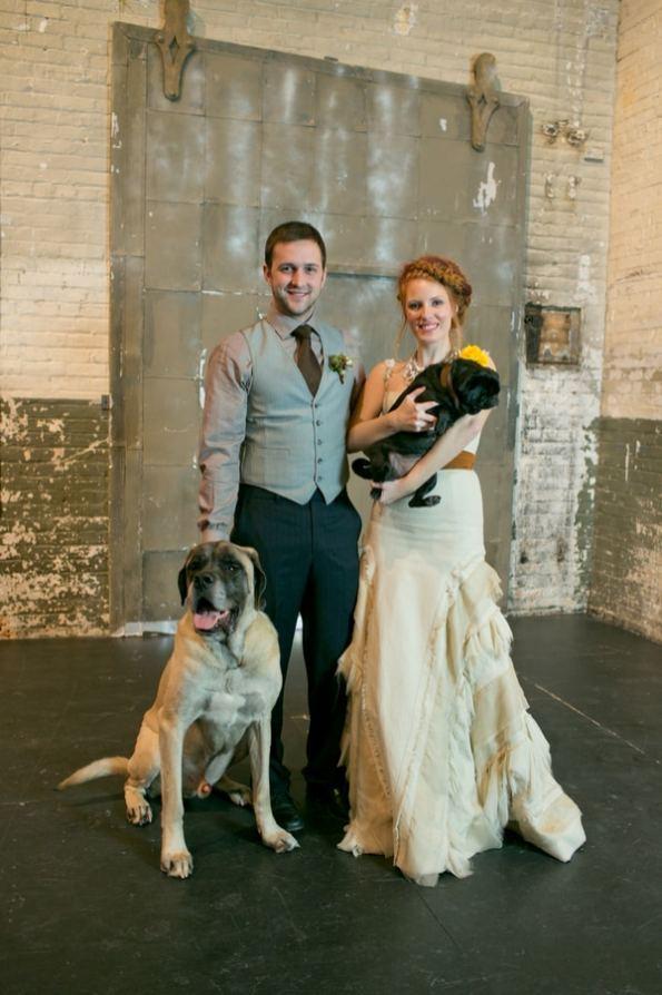 Steampunk Wedding Inspiration metals bride shoot 19