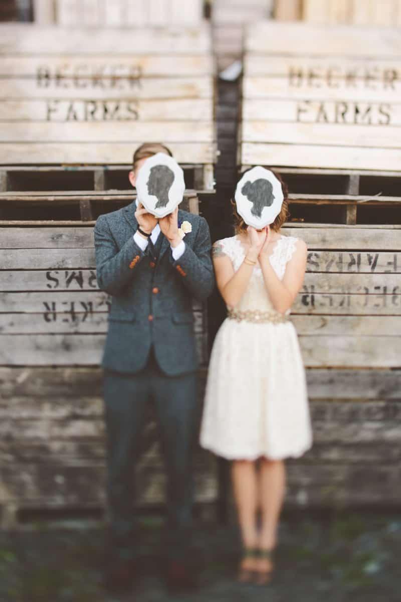 Intimate, Rustic DIY Wedding