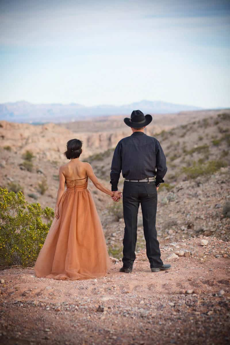 COUNTRY & WESTERN COWBOY & INDIAN ELOPEMENT (25)