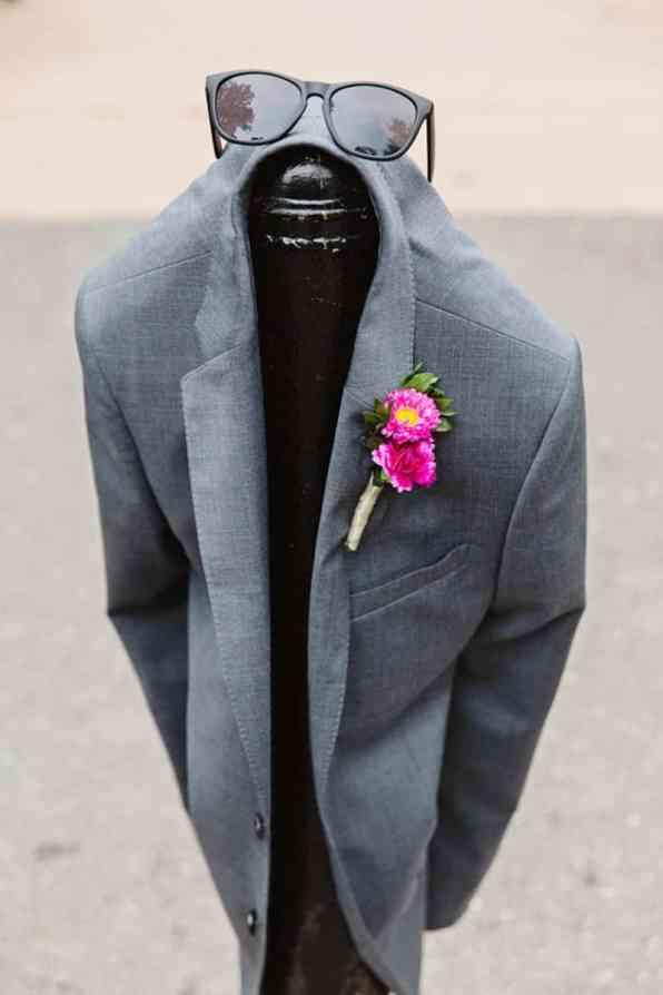 Close Knit Family & Friend DIY Wedding, Bride with Purple Petticoat (23)