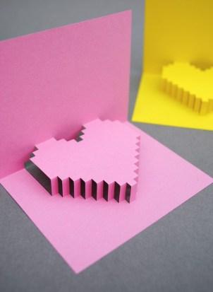 pixel-heart-card