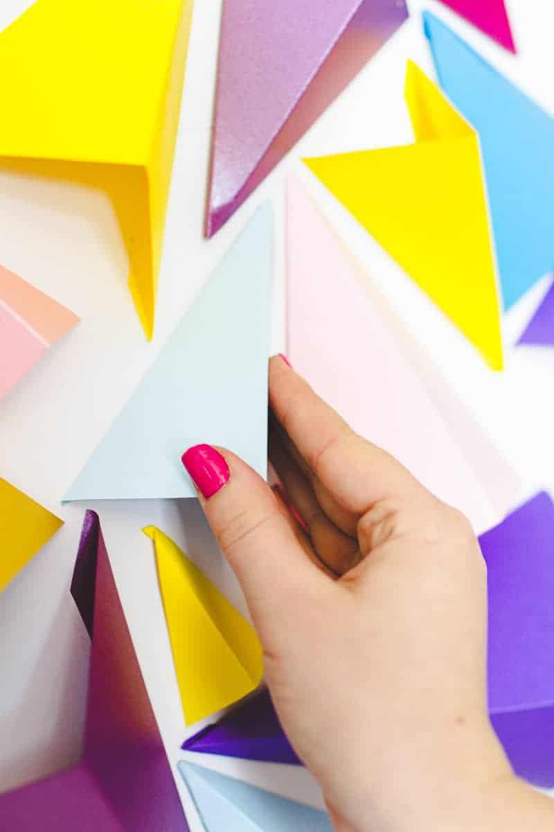 Geometric Heart Backdrop Altar Art DIY Tutorial_-3