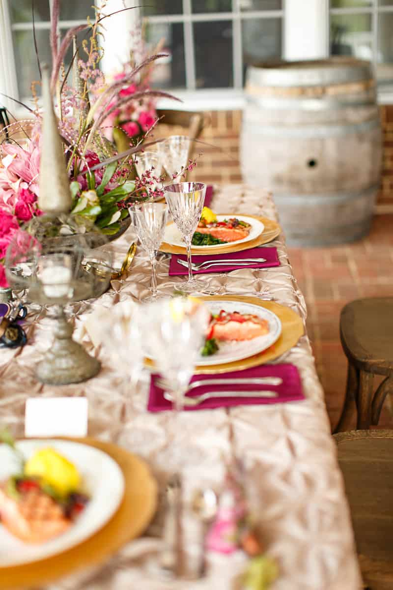 Steampunk Colourful Vibrant Colours Pink Wedding Inspiration-28