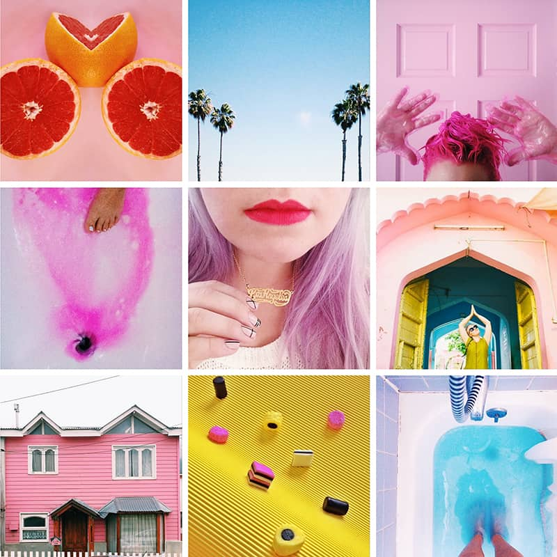 Team Wood Note Colourful Instagram Account