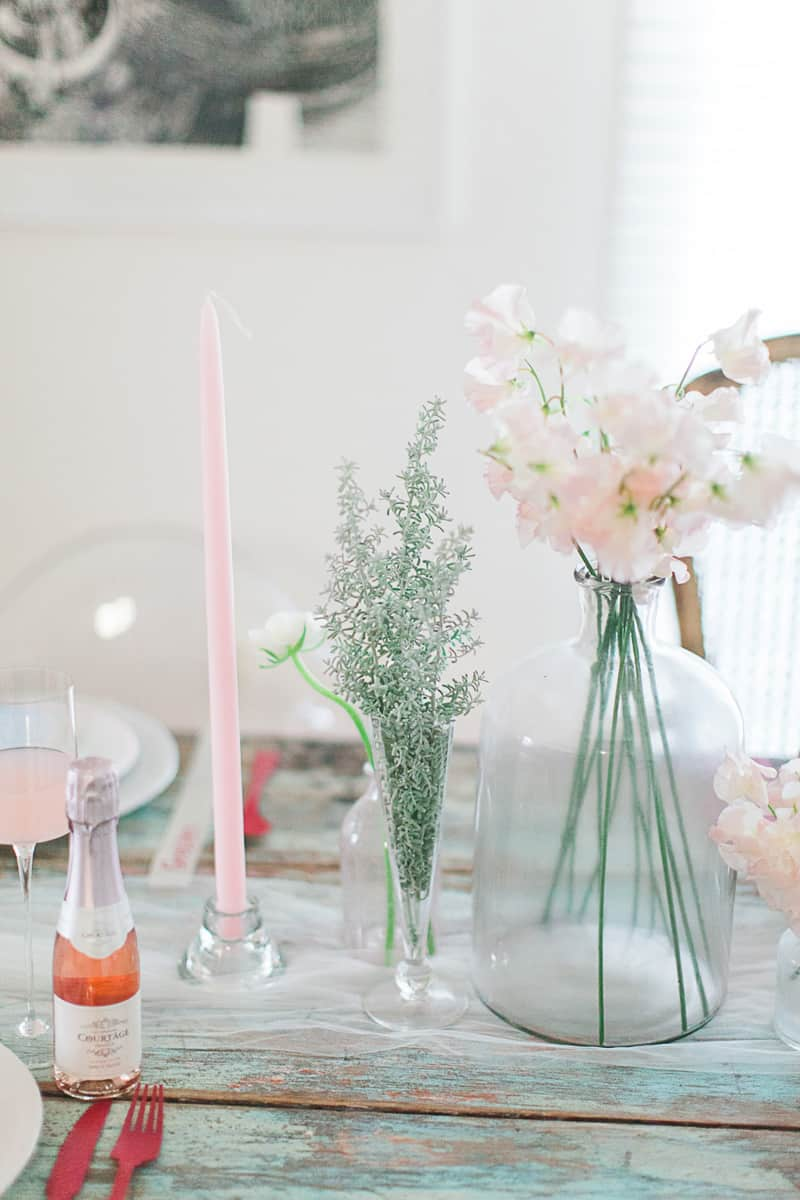 Valentines Bridal Shower Styled Shoot Pink Red Colour Scheme-11