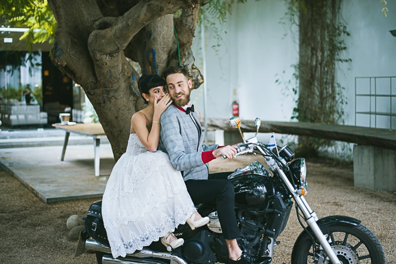 Winter Wedding Inspiration Style with Rockabilly Fashion from Zebra Music and Gold Antler Crowns Shoot-16