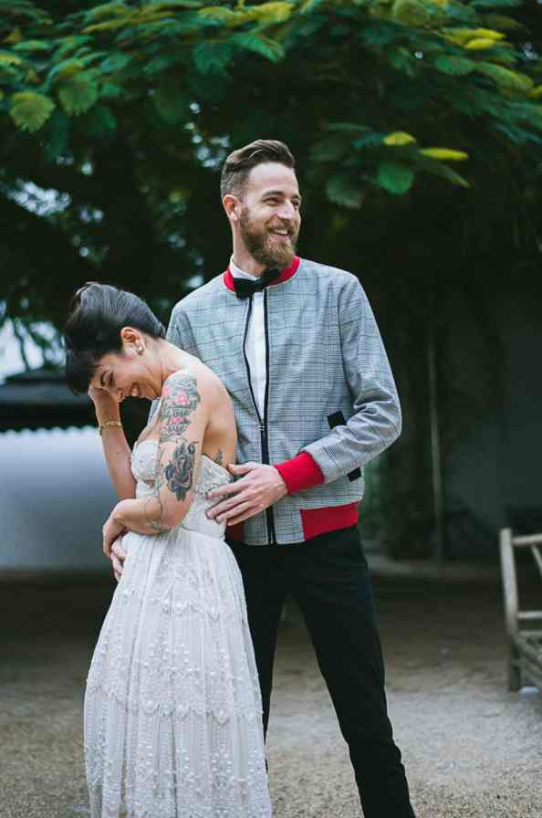 Winter Wedding Inspiration Style with Rockabilly Fashion from Zebra Music and Gold Antler Crowns Shoot-26