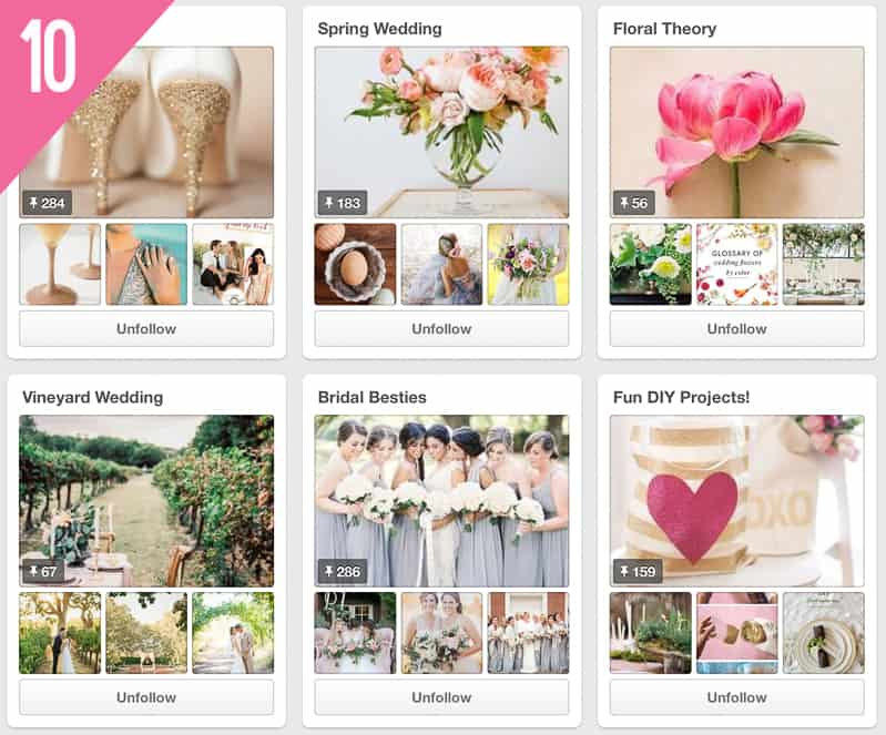 10 Hey Wedding Lady Pinterest Accounts To Follow for Inspiration