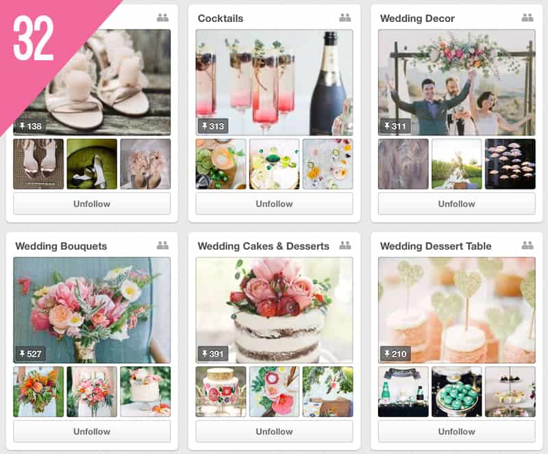 32 100 Layer Cake Wedding Pinterest Accounts to Follow